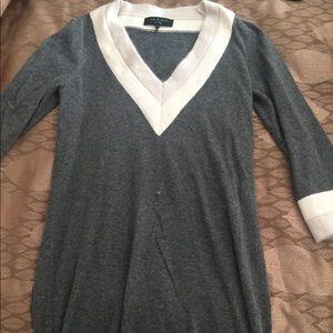 Rag and bone tunic sweater